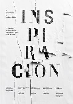 Inspiración by Anto Moreno, via Behance, decollage