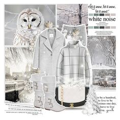 White noise by l33l on Polyvore featuring polyvore, fashion, style, Chicwish, MANGO, J Brand, WALL and clothing