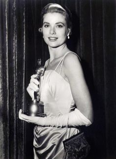 "Grace Kelly - 1955 Academy Award for Best Actress - ""The Country Girl"" (1954)"