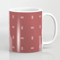 Buy Scandinavian Modern Minimal Pattern Red Coffee Mug by Rocket Boy. Worldwide shipping available at Society6.com. Just one of millions of high quality products available. Red Mug, Scandinavian Modern, Drinkware, Minimalism, Coffee Mugs, Ceramics, Tableware, Pattern, Design