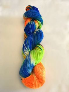Hand dyed worsted yarn hand-dyed merino wool 100% Superwash