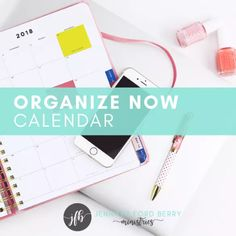 Organize Now To-Do List Calendar Month 2 - Jennifer Ford Berry