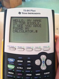 I picked a random calculator in math class today - Win Picture | Webfail - Fail Pictures and Fail Videos