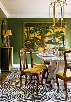 South Shore Decorating Blog: 50 Favorites for Friday #159. I love the color of the walls