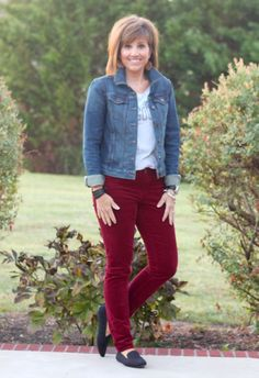 Love these burgandy pants and love kut from the kloth pants.....maybe in my next fix???