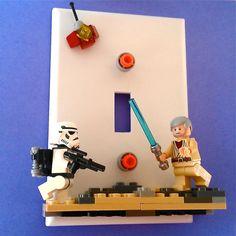 LEGO Star Wars switchplate