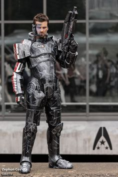 Commander Shepard from Mass Effect byZephon CosPhotog bytake7x
