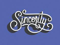 Dribbble - Sincerity by Karli Ingersoll