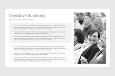Executive Summary PowerPoint PPT Template is a professional Collection shapes design and pre-designed template that you can download and use in your PowerPoint. The template contains 12 slides you can easily change colors, themes, text, and shape sizes with formatting and design options available in PowerPoint. Ppt Template, Logo Templates, Executive Summary, Color Themes, Colors, Couple Photos, Change, Shapes, Collection