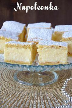 Napoleonka Puff Pastry Recipes, Food Cakes, Vanilla Cake, Cake Recipes, Food And Drink, Baking, Dinner, Napoleon, Kitchens