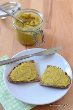 vollwert-blog.de: Curry-Aufstrich mit Linsen, Buchweizen und Grünkern