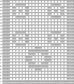 ♥´´Croche Lilas´´♥: Passadeira de Croche que achei na net com grafico é linda