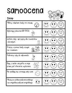 Samoocena / Behavior Self Assessment by Teach Bilingual Be Creative Polish Language, Owl Classroom, Lego For Kids, Educational Crafts, Self Assessment, Education College, Teacher Newsletter, Speech And Language, Education Quotes