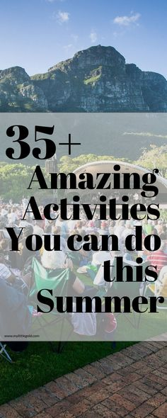 Wondering what to do this summer? See a festival? Play some sports? Eat some awesome food? Check out my list! Awesome Food, Long Weekend, You Can Do, Things To Do, Activities, Play, Canning, Amazing, Check