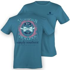 Simply Southern Seersucker Is The New Black T- Shirt