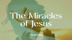 I just finished day 2 of the @YouVersion plan 'The Miracles of Jesus'. Check it out here: