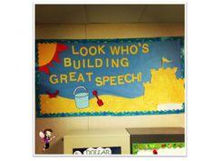 The dabbling speechie decor linky