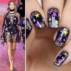 Amazing nail art! Elie Saab inspired nails by Anja