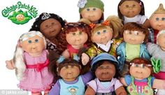 Cabbage Patch dolls make a comeback! New generation of 80s toy that had parents fighting in the aisles returns to the shelves
