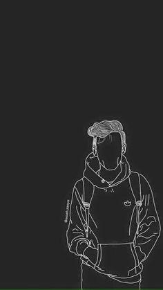 Pin by loshina priiya on louis tomlinson black wallpaper, on Cool Black Wallpaper, Black Phone Wallpaper, Black Aesthetic Wallpaper, Boys Wallpaper, Emoji Wallpaper, Aesthetic Wallpapers, Wallpaper Backgrounds, Screen Wallpaper, One Direction Drawings