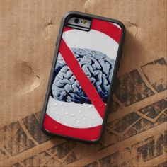 No Thinking Allowed Tough Xtreme iPhone 6 Case