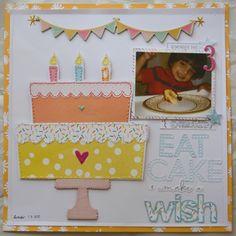 Eat+Cake+and+Make+a+Wish - Scrapbook.com