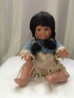 """Baby Indian Doll - Gregory Perillo """"Song of The Sioux"""" Artefacts   She is beautiful!"""