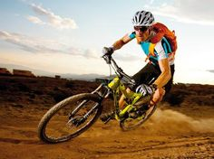 The 575 will fly through loose corners with total confidence. Bike Radar 575 review.