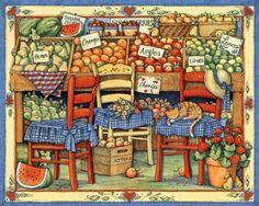 Susan Winget - fruit stand