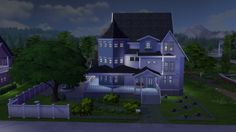 What a Sim House blog: Residential lot - Hamptons Street 18
