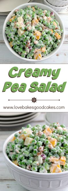 Pea Salad I have been looking for this recipe for years! It's just like my grandma used…I have been looking for this recipe for years! It's just like my grandma used… Comida Picnic, Creamy Peas, Vegetable Side Dishes, Side Dishes For Pasta, Simple Side Dishes, Cold Vegetable Salads, Green Vegetable Recipes, Diabetic Side Dishes, Diabetic Salads