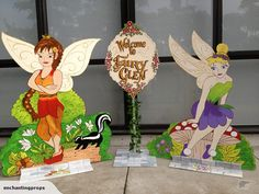 """Welcome to Fairy Glen"" with Willow and Izzy.  Fairy Glen props for hire."