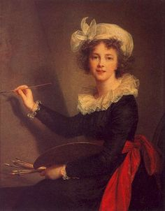 Self Portrait 1790 by by Louise-Elisabeth Vigee-Lebrun