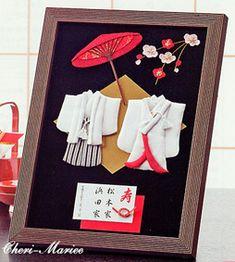 ウェルカムボード・和のエレガンス(額縁つき)>手作りウェルカムボードキット|ウェルカムボード通販シェリーマリエ Cool Paper Crafts, Diy Paper, Paper Art, Diy And Crafts, Arts And Crafts, Diy Wedding, Wedding Gifts, Japanese Party, Welcome Boards