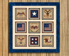 Americana Patriotic Art Print Dan Morris These by DanMorrisArt