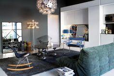 Art déco och designklassiker i trendig våning - Skonahem