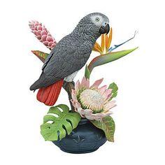Chatterbox Bird Figurine by Bob Guge - The Danbury Mint