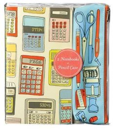 Image of Notebooks and Pencil Case Set $16.95