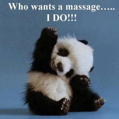 Who Wants a Massage? Schedule a massage with Bodyworks By Michelle (845)774-6829…