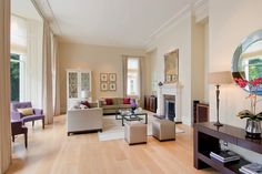 This Pale Oak flooring reflects the light perfectly in this large sitting room www.element7.co.uk Wide Plank Flooring, Engineered Wood Floors, Oak Flooring, Oil Sands, Underfloor Heating Systems, Living Room Flooring, Ideas, Furniture, Home Decor