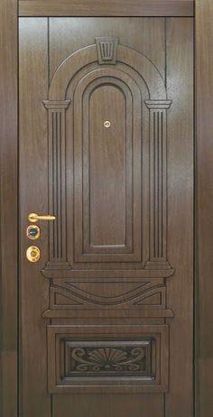 House Main Door Design, Home Door Design, Wooden Front Door Design, Wood Front Doors, Wooden Glass Door, Wooden Doors, Traditional Front Doors, Classic Doors, Entrance Doors
