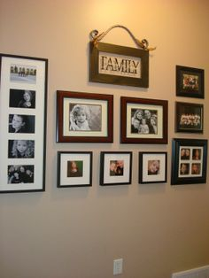 1000 Images About Arrange Family Pictures On Pinterest