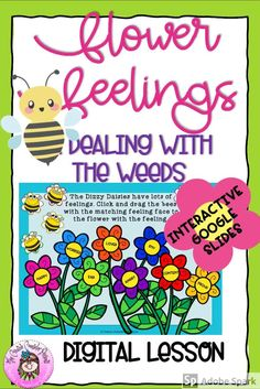 Made with Google Slides for distance learning, this self-directed lesson helps students identify negative feelings & situations through fun, interactive drag and drop Garden themed activities.  #feelings #emotions #distancelearning #digital #digitalresources #googleslides #CreativeCounselor Group Counseling, Counseling Activities, School Counseling, Learning Activities, Elementary School Counselor, Elementary Schools, Guidance Lessons, Effective Communication, Student Learning