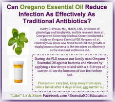 Can Oregano Essential Oil Reduce Infection As Effectively As Traditional Antibiotics?