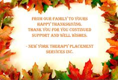 Happy Thanksgiving from NYTPS