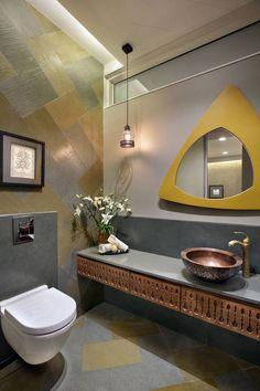ideas for house front wall design indian Washroom Design, Toilet Design, Bathroom Interior Design, Lavatory Design, Modern Toilet, New Toilet, Modern Bathroom, Bathroom Ideas, Bathroom Pink