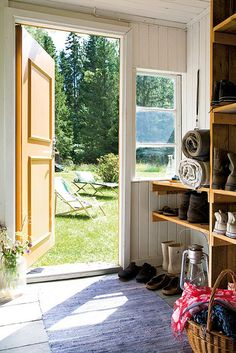a lovely cottage in småland, sweden by the style files, via Flickr