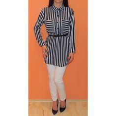 Camasa Sailor - Camasi Tops, Women, Fashion, Moda, Fashion Styles, Fashion Illustrations, Woman