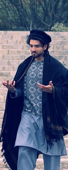 Source by dresses afghani clothes Afghani Clothes, Kurta Men, Boy Fashion, Fashion Outfits, Handsome Arab Men, Afghan Dresses, Kurta Designs, Western Outfits, Afghanistan