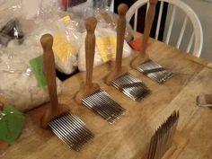 Wool Combing, Fiber Combs, Hackle and Tools #1
